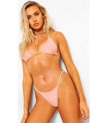 essentials klein bikini topje, poederroze