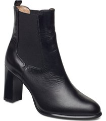 uron_ne shoes boots ankle boots ankle boot - heel svart unisa