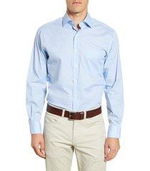 men's peter millar dew drop regular fit button-up shirt