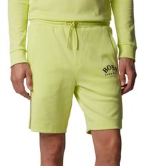 boss men's headlo light pastel green shorts