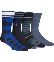 tommy hilfiger men's 4-pk. dress socks