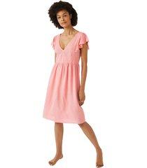 vestido corto escote troquelado multicolor women secret 492557270xl