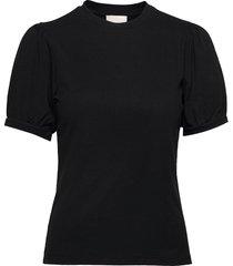 johanna tee blouses short-sleeved svart minus