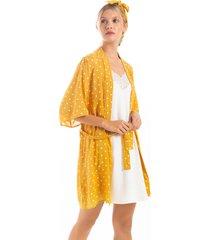 kimono estampado bolas 1574001l estampado  options intimate