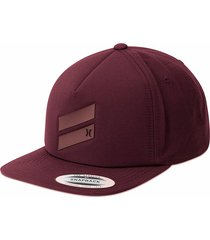 gorra para hombre hurley-vinotinto