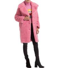 cappotto donna teddy