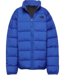 b andes jacket gevoerd jack blauw the north face