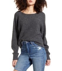 women's leith dolman sleeve pullover, size x-large - grey