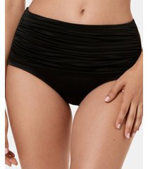 miraclesuit solid norma jean high-waist bottoms women's swimsuit