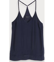 scotch & soda viscose tanktop met racerback