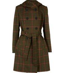 cappotto corto a quadri (verde) - bpc bonprix collection