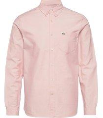 mens shirt skjorta casual rosa lacoste