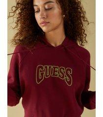 bluza z kapturem i logo