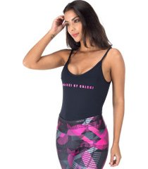 body fitness colcci liso - feminino - preto