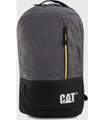 morral  gris-negro-amarillo cat cat campus
