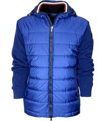 yacting jacket with detachable hood