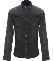 the touch denim shirts