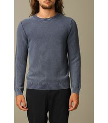 eleventy sweater eleventy crewneck pullover in rice-grain wool