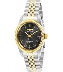 reloj invicta multicolor modelo 294gg para mujer, colección specialty