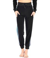 electric yoga women's sundrop jogger pants - black - size m