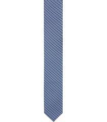 krawat platinum niebieski classic 209