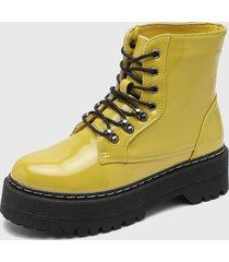 botín amarillo fiveblu
