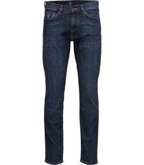 slim gant jeans slim jeans blauw gant