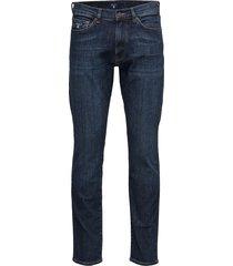 slim gant jeans jeans blauw gant