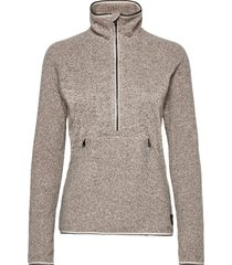 pw snow city fleece hz sweat-shirt trui grijs o'neill