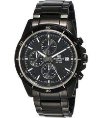reloj casio edifice efr-526bk-1a1 análogo hombre - negro