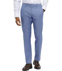 men's bonobos weekday warrior tailored fit stretch pants, size 29 x 32 - blue