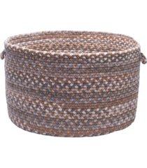 oak harbour braided storage basket