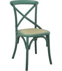 conjunto 02 cadeiras katrina verde