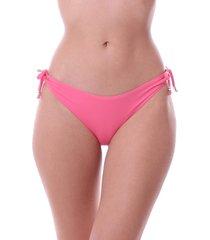 calcinha de biquini simony lingerie tanga com jóia lycra luna rosa