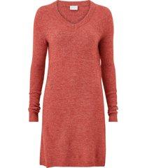 klänning vivikka l/s knit v-neck dress
