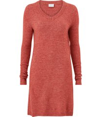 klänning vivikka l/s knit v-neck dress