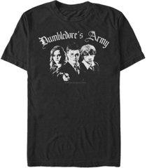 fifth sun men's dumbledore's army short sleeve crew t-shirt