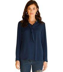blouse amy vermont blauw