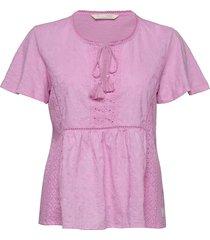 artful blouse blouses short-sleeved roze odd molly