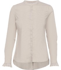 mattie stripe shirt overhemd met lange mouwen multi/patroon mos mosh