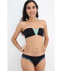 vestido de baño bikini passion for the sun para mujer - macrame