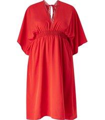 klänning vmgali 3/4 sleeve midi dress curve