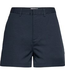 'abott' organic cotton chino shorts shorts chino shorts blå scotch & soda