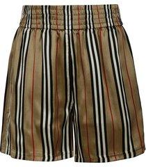 burberry stripe shorts