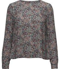 flora liberty blouse blouse lange mouwen multi/patroon morris lady