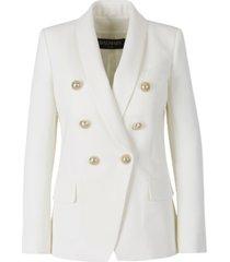 blazer with dinner jacket lapel