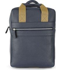 mochila azul briganti porte