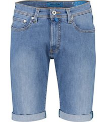 pierre cardin futureflex shorts denim lichtblauw