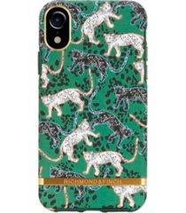 richmond & finch green leopard case for iphone xr