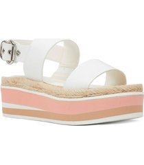 sandalia athena blanco nine west